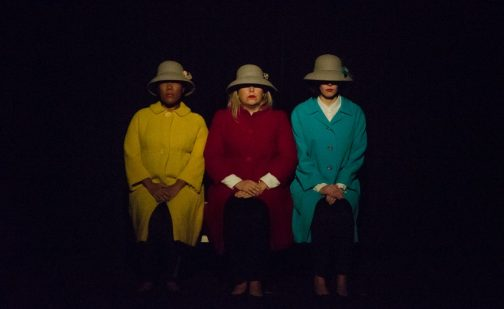 Costume design for LADIES NIGHT WITH SAMUEL BECKETT